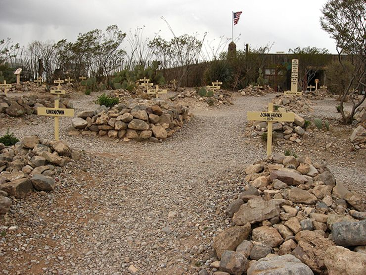 haunted cemeteries boothill graveyard