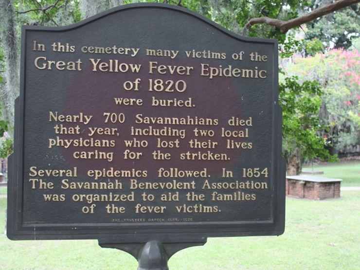 Colonial Park Cemetery Savannah Georgia