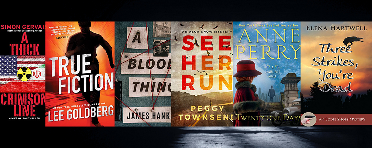 Win April's Mystery and Thriller Book Bundle