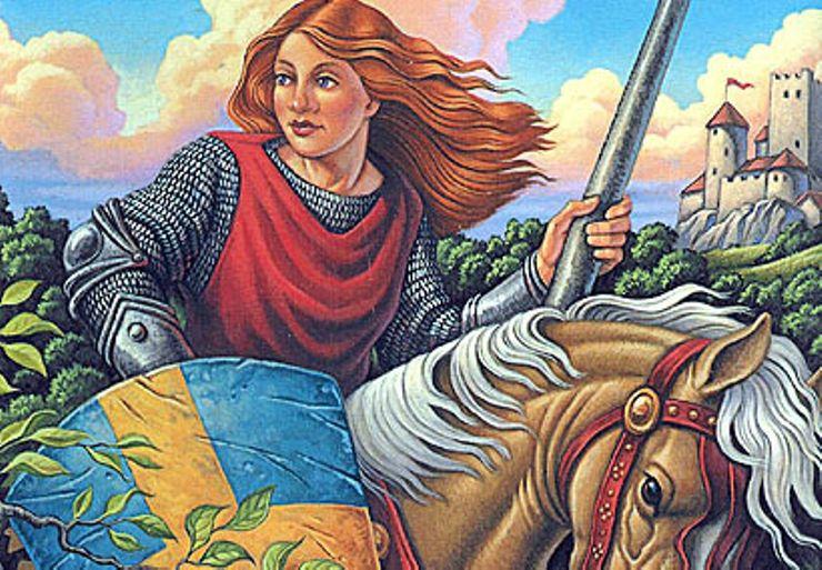 best fantasy characters Alanna