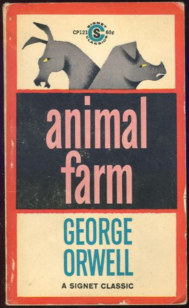 an analysis of thesocial rank of animals in animal farm by george orwell
