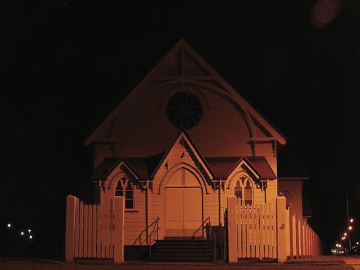 ufo encounter church