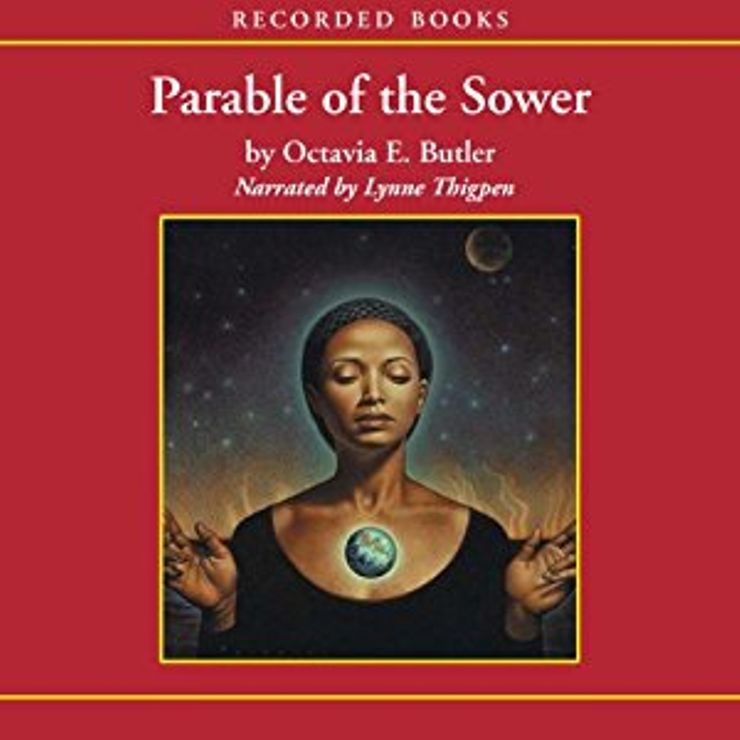 the story of lauren olamina in octavia e butlers the parable of the sower Lauren olamina and her family live in one of the only safe neighborhoods remaining on the outskirts of parable of the sower octavia e butler no preview available (1979), a story of a black woman who travels back in time to the antebellum south, that brought her mainstream.