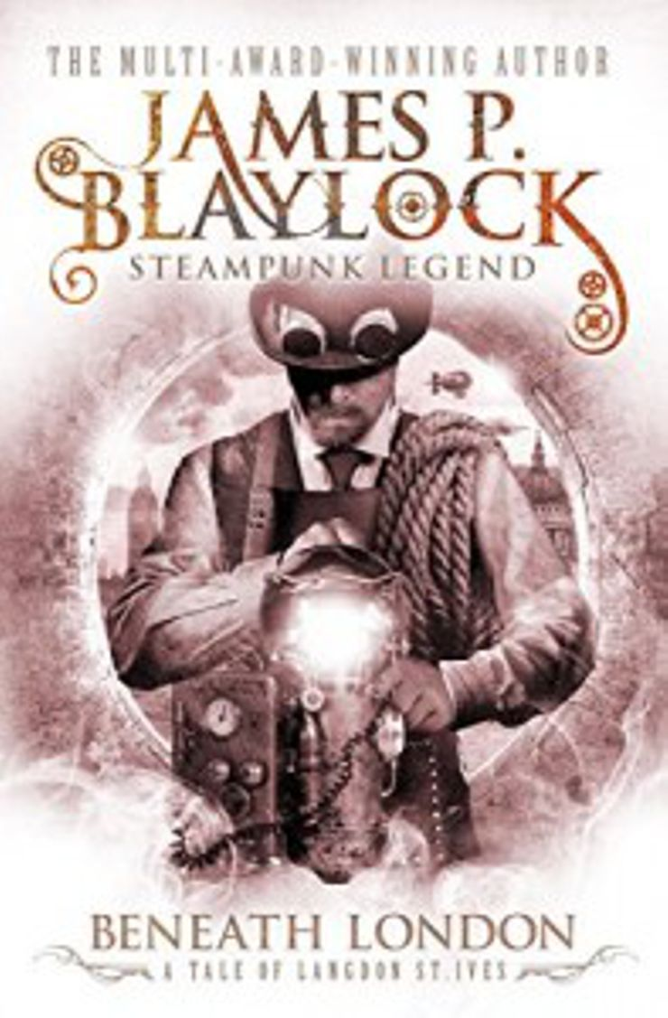 steampunk books Beneath London