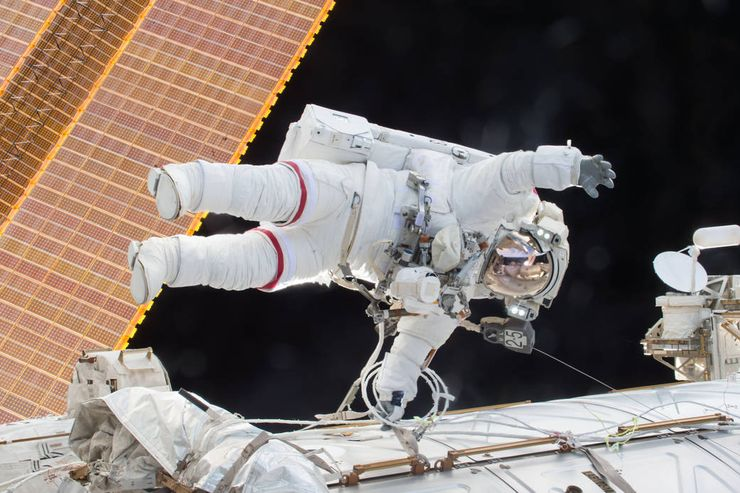 NASA Twins Study ISS Scott Kelly spacewalk