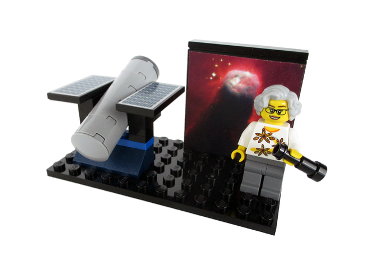 women of nasa lego nancy grace roman minifig