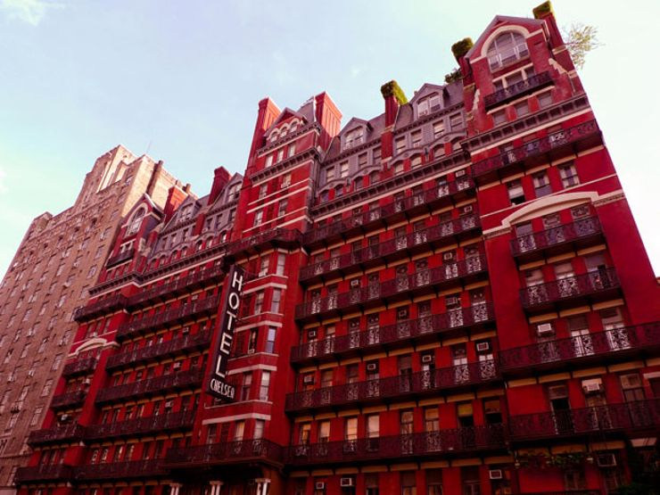 chelsea hotel haunted hotels
