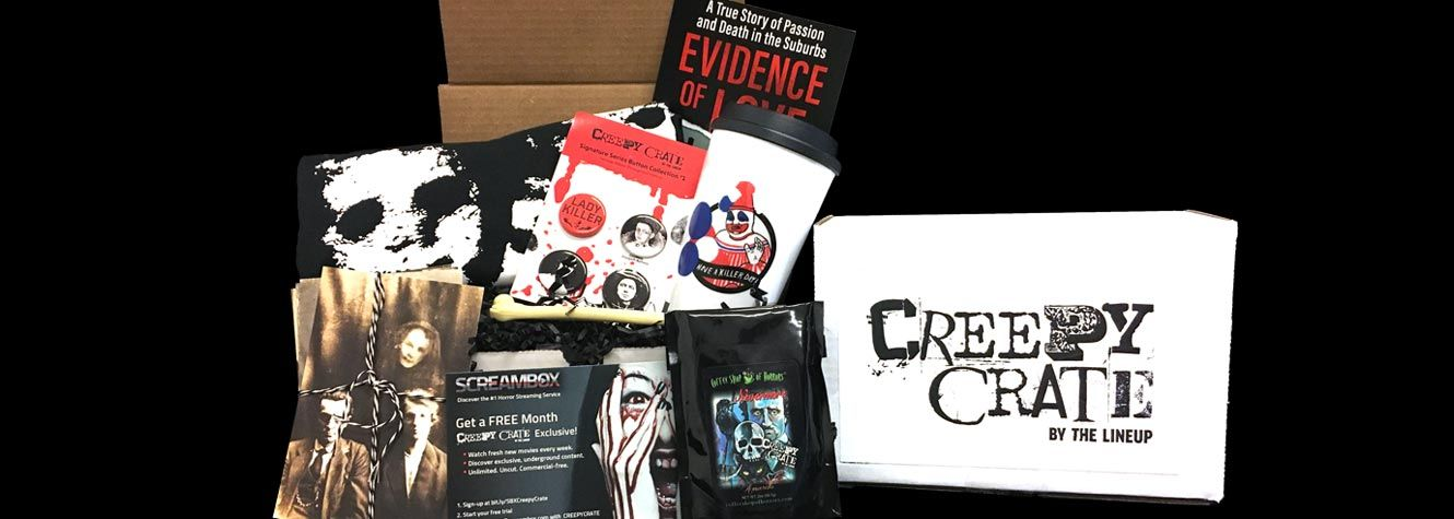 Unboxing Creepy Crate #2!