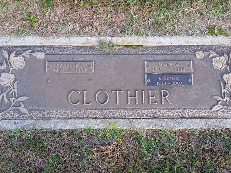 candace clothier grave