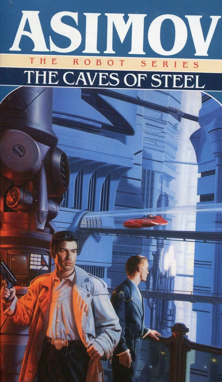 Buy The Caves of Steel (Robot series) at Amazon