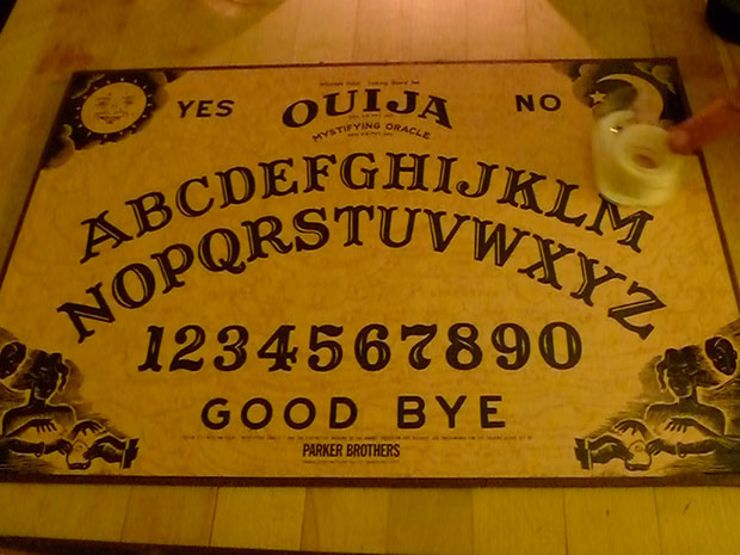 paranormal events ouija