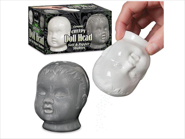 creepy doll head shakers