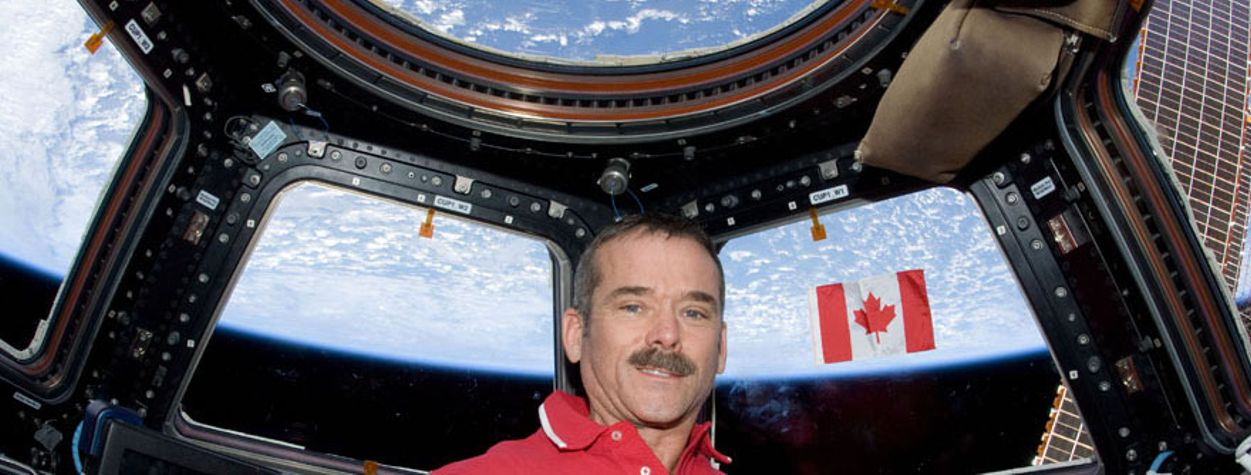 Chris Hadfield Is Proof of the Power of Sci-Fi