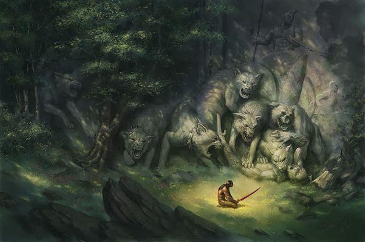 best fantasy characters Karsa Orlong Malazan