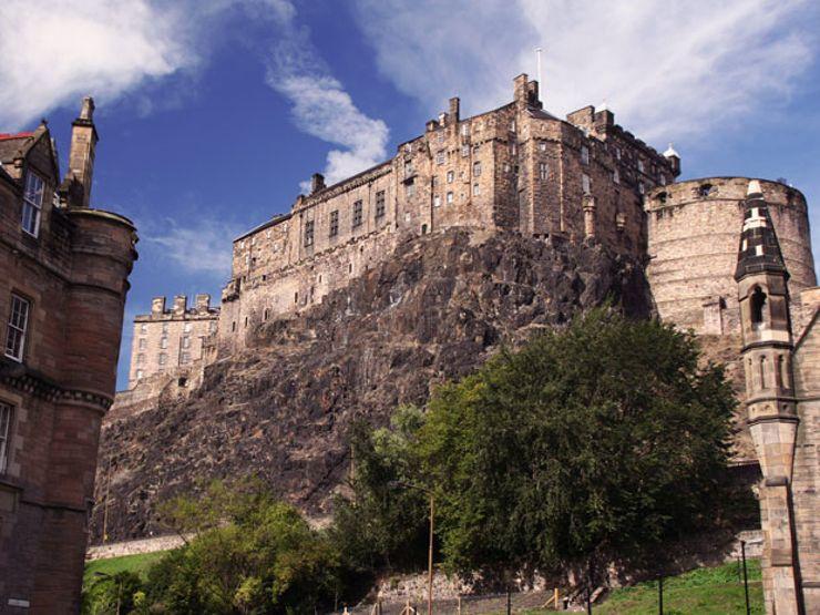 Edinburgh Castle: Scotland's Haunted Fortress on the Hill