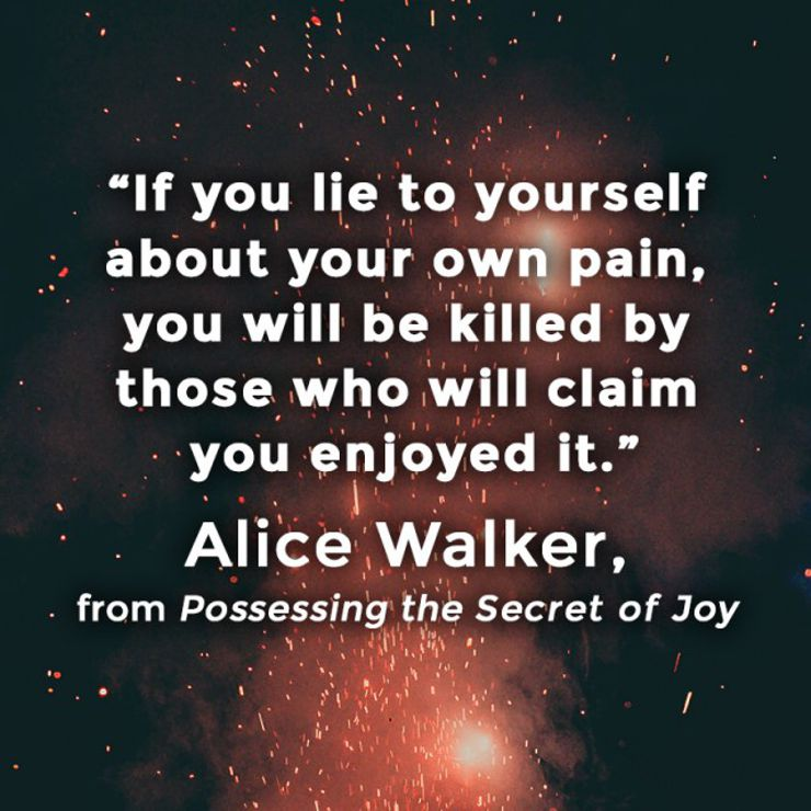 possessing the secret of joy quote