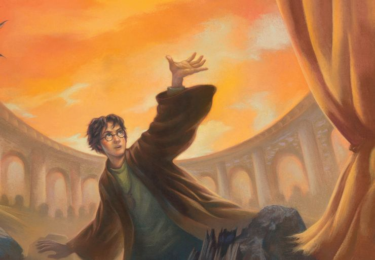 harry potter quotes deathly hallows book cover