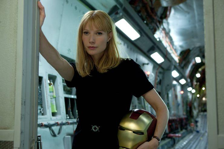 badass female characters Pepper Potts Iron Man