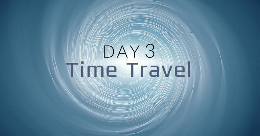 [EXPIRED] Day 3: Books About Time Travel