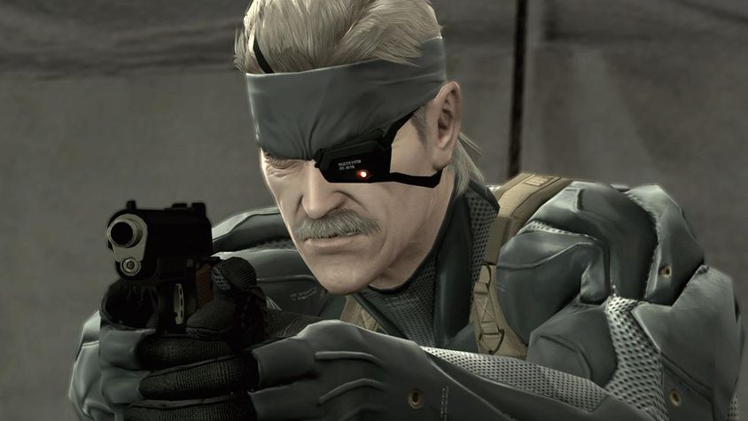 story matters video games Metal Gear Solid 4