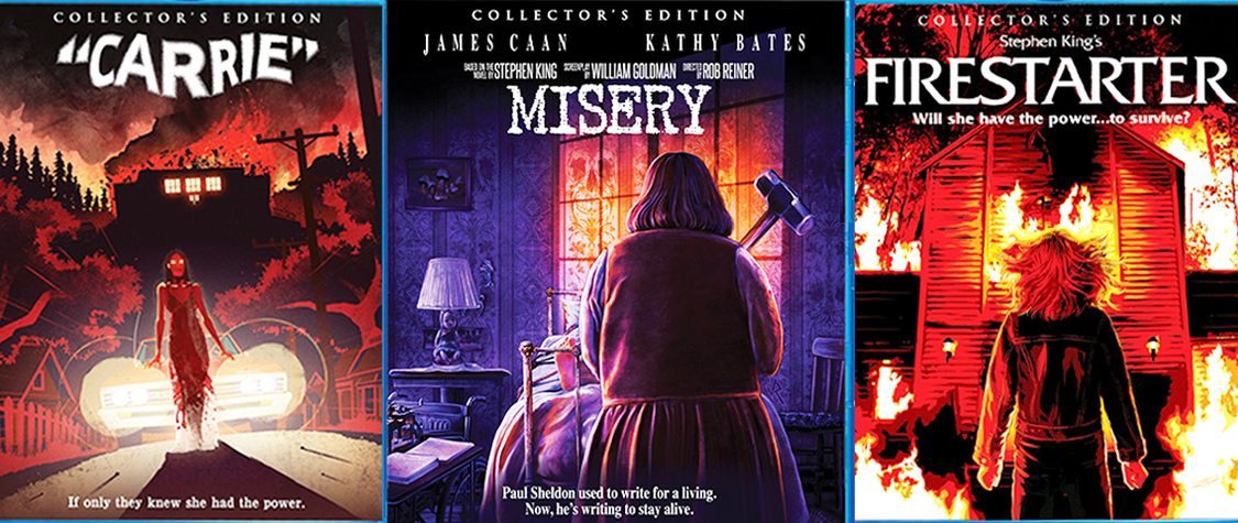[CLOSED] Enter to Win Our Stephen King Blu-ray Horror Movie Bundle!