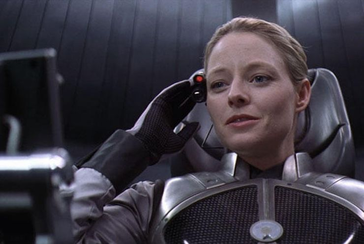 space movies contact jodie foster