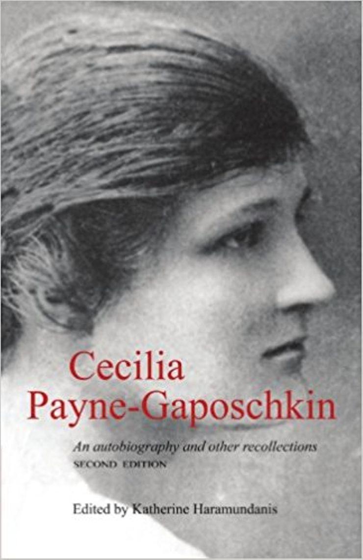 Cecilia Payne-Gaposchkin's doctoral thesis