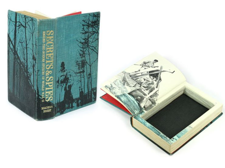 gift guide: hollow book safe