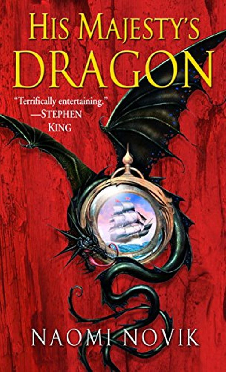 Buy His Majesty's Dragon at Amazon