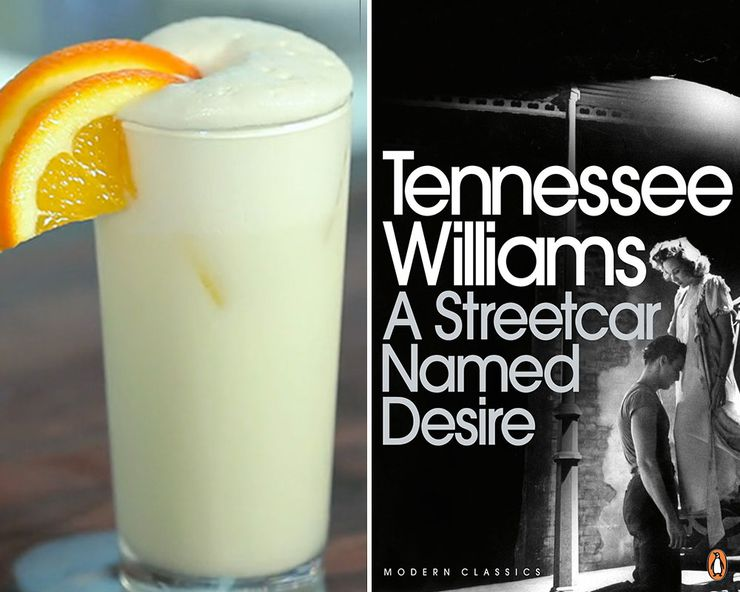 Literary Inspired Cocktails Streetcar Named Desire