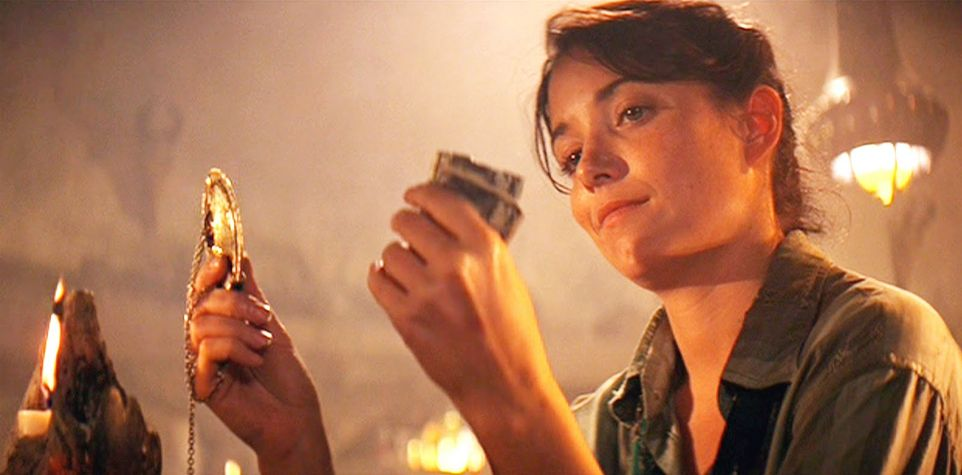 badass female characters Marion Ravenwood Indiana Jones and the Raiders of the Lost Ark