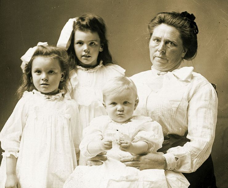 belle gunness children