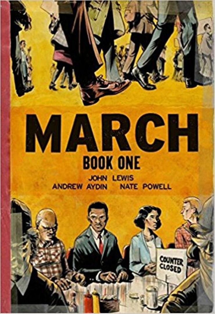 Buy March: Book One at Amazon