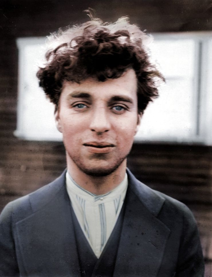 charlie chaplin colorized