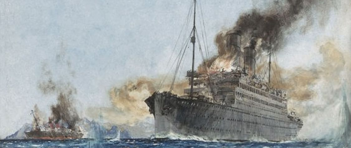That Time Two Luxurious Ocean Liners Fought an Intense Naval Battle