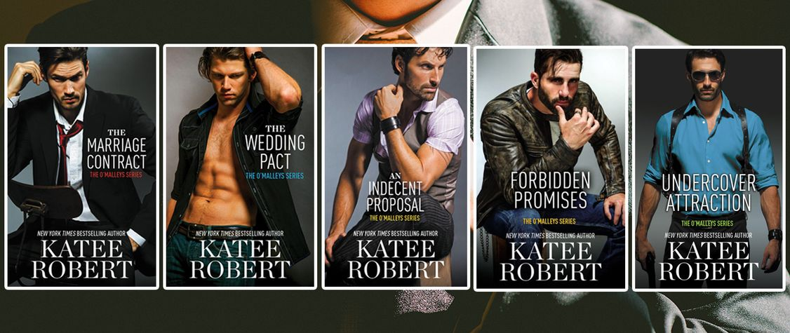 [CLOSED] GIVEAWAY: Win 5 Sexy, Romantic Suspense Novels by Katee Robert