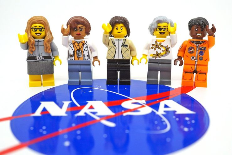 Meet the NASA Women Honored in LEGO's New Set