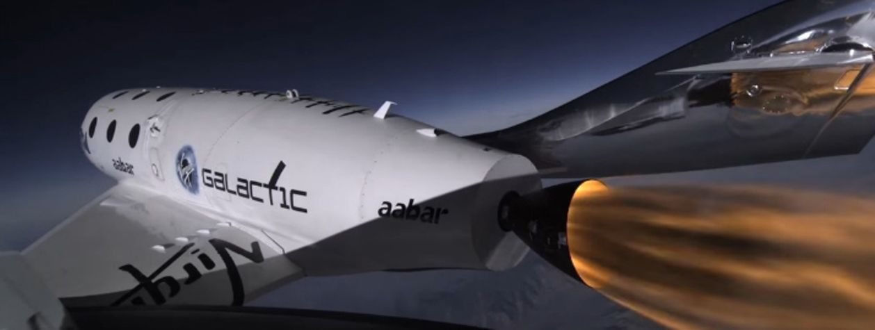 Virgin Galactic Describes What a Private Spaceflight Will Look Like