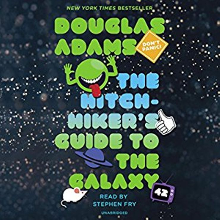 Buy Hitchhiker's Guide to the Galaxy at Amazon