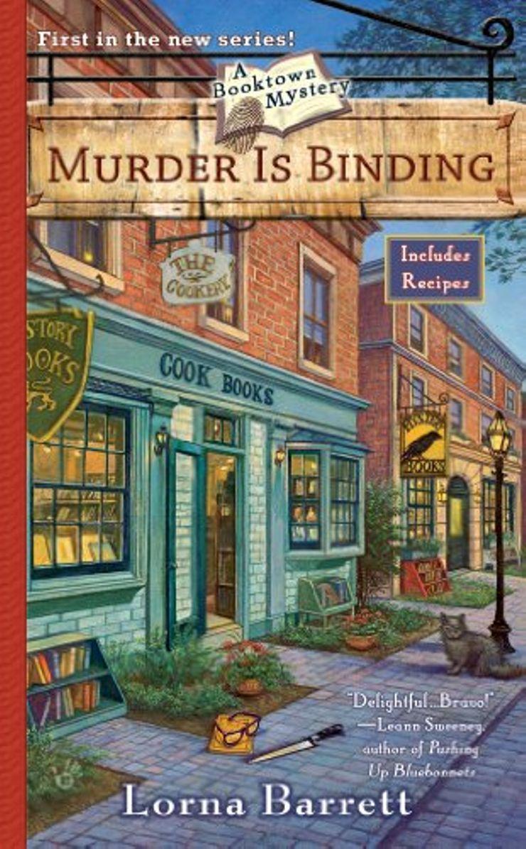 Buy Murder is Binding at Amazon