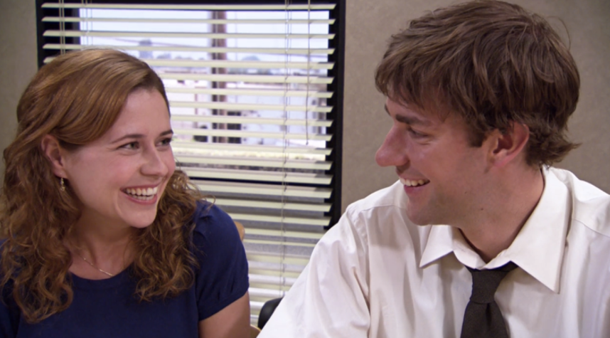 TV couples Jim Pam The Office