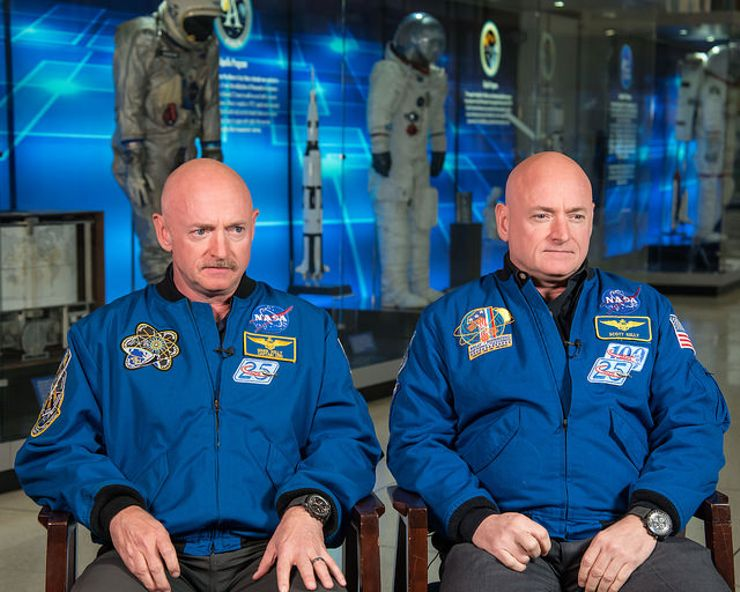 NASA twins study Scott Kelly Mark Kelly
