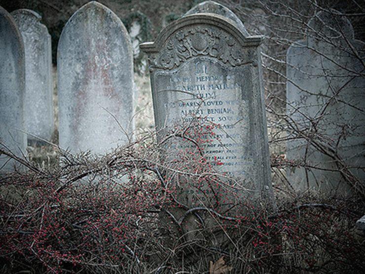 horror shorts grave