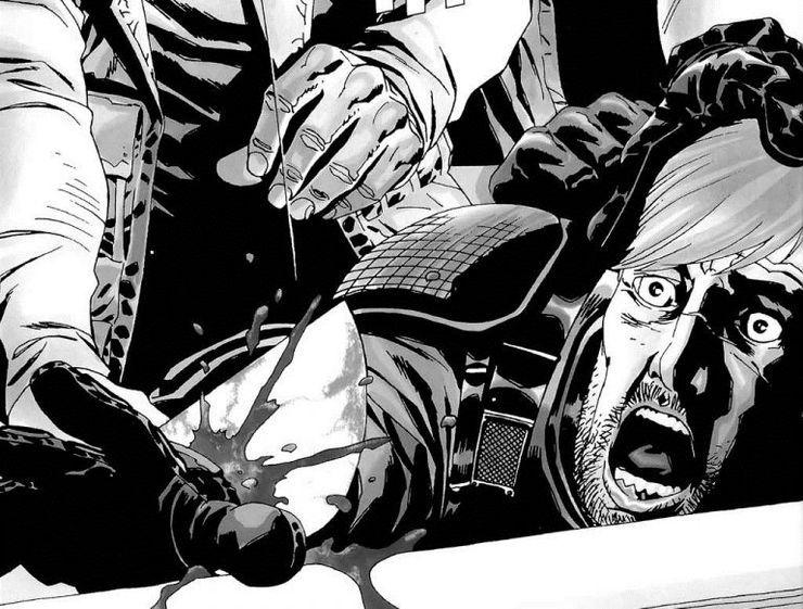 The Walking Dead comics Rick