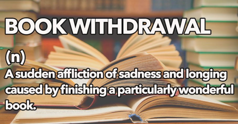 7 Signs You're Going Through Book Withdrawal