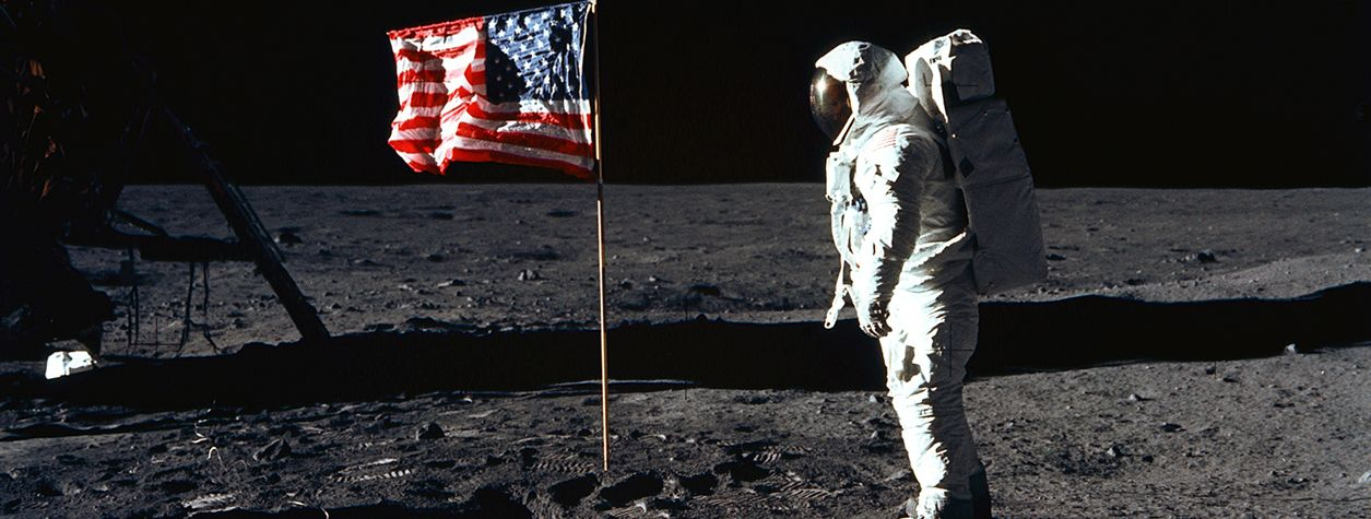 15 of the Weirdest Things People Have Left on the Moon