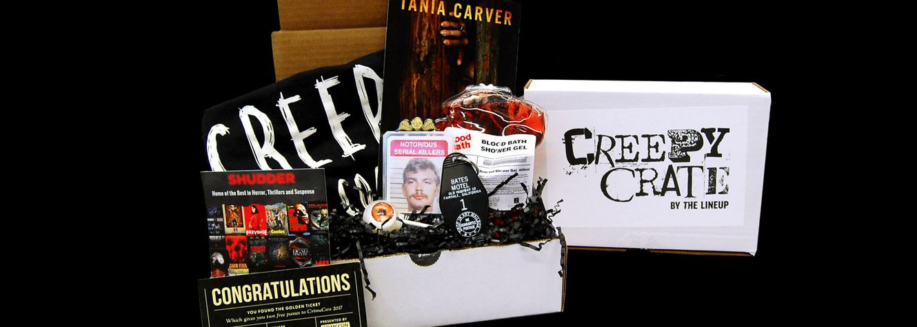 Unboxing Our Inaugural Creepy Crate!
