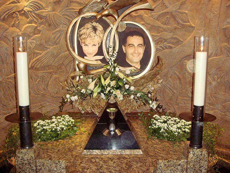 Diana and Dodi's Memorial at Harrods