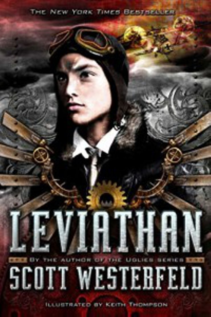 steampunk books Leviathan