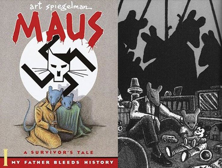 a review of maus a graphic novel by art spiegelman Art spiegelman, grandfather of the graphic novel, was a true revolutionary martin rowson sat 29 nov 2008 1901 est first published on sat 29 nov 2008 1901 est.